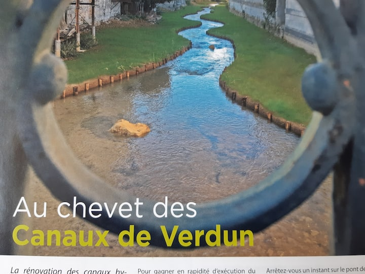 Plain- pied cœur de Verdun avec terrasse !!!