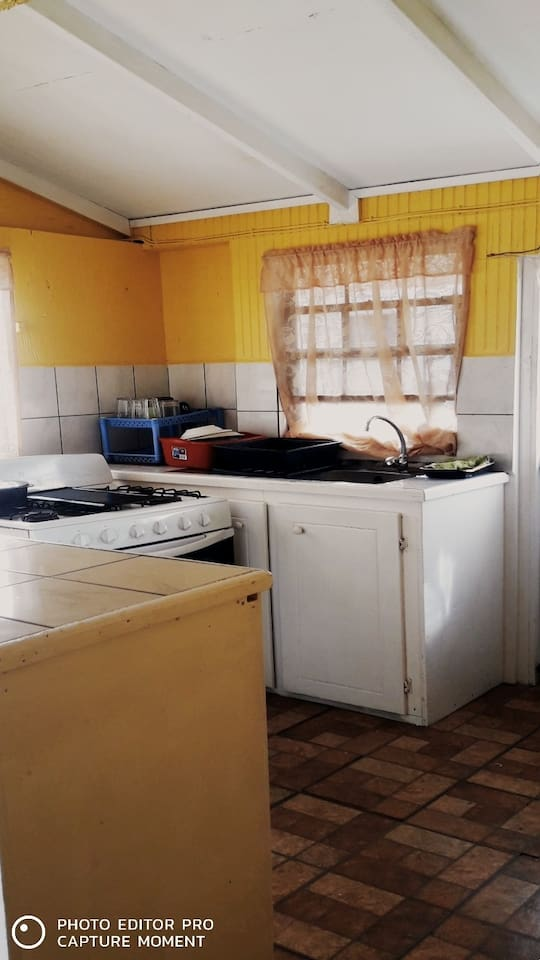 Photo of kitchen area