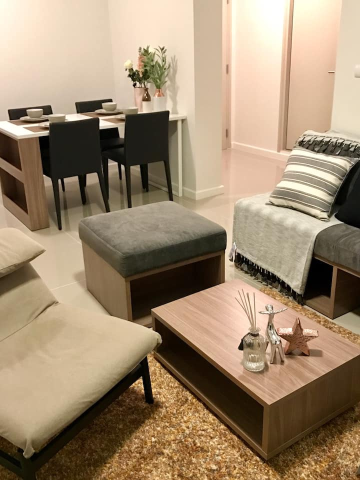New 2BR 2min walk Central Fest Mall