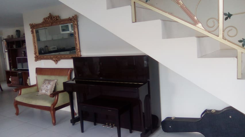 Para los amantes del arte musical puede hacerlo con el piano.