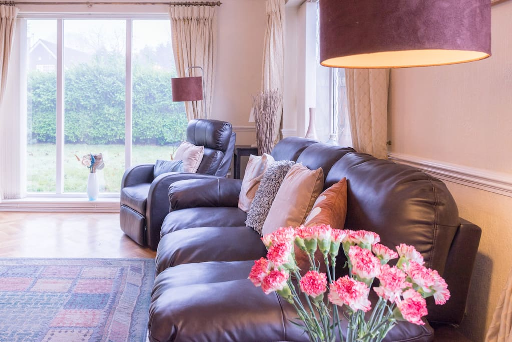 Relax into your luxury sofa
