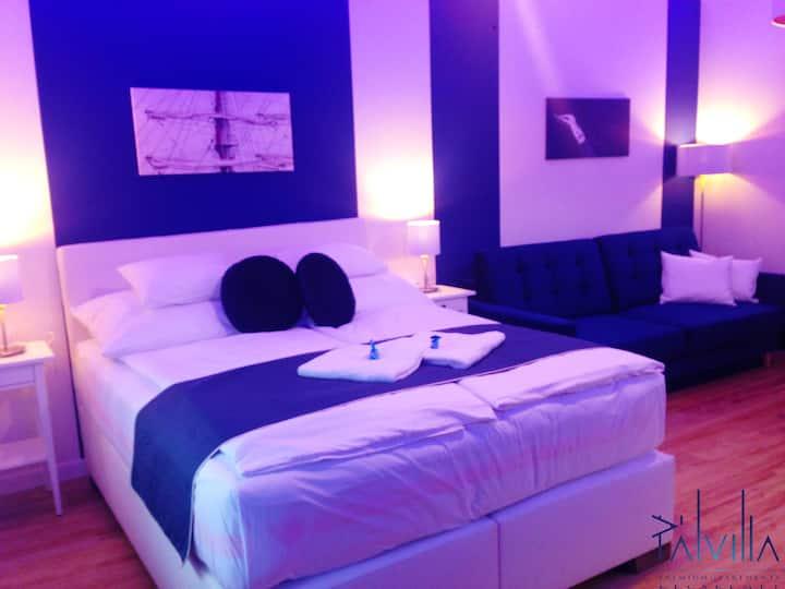 Pál Villa - Deluxe Apartment, Blue as the ocean