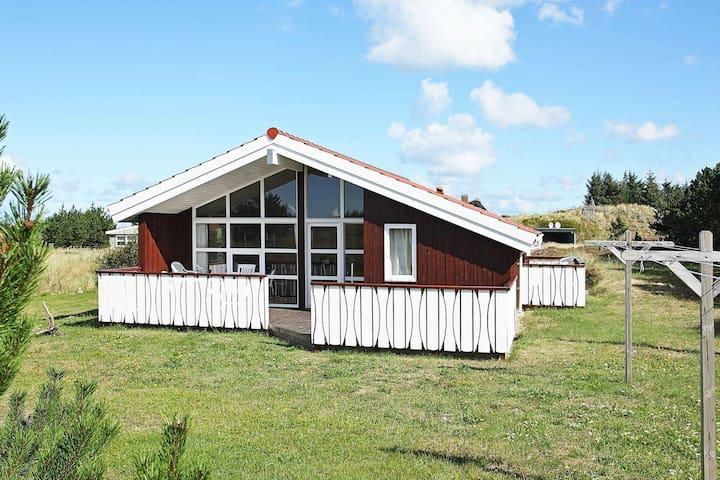 Tranquila casa de vacaciones en Thisted con sauna