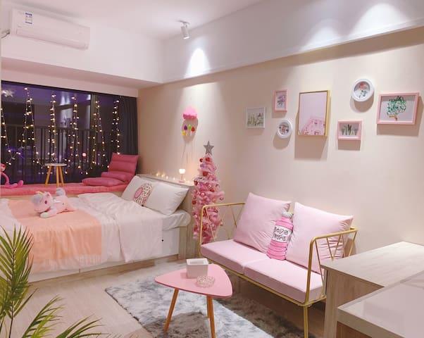 《宿醒~玉颜光粉·宿》粉色少女系列主题周边配有大型上商场房间给人少女的可爱感觉很有卡哇伊的即时效果