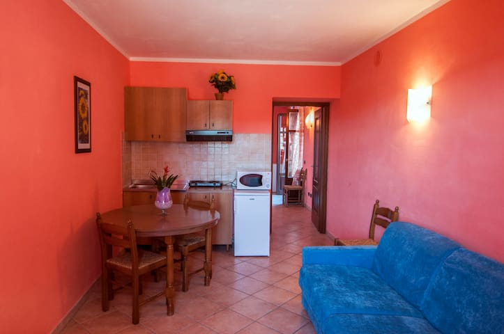 Appartamento con terrazzo panoramico - Sant'Antonino - Wohnung