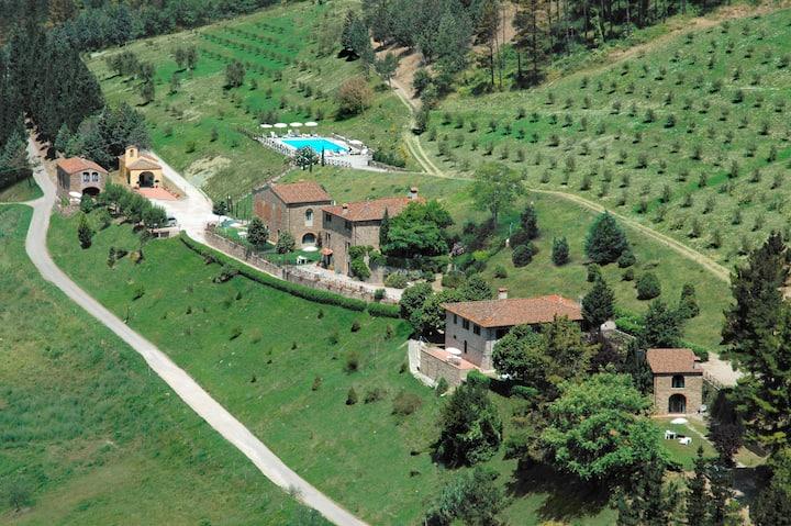 splendida fattoria nel chianti