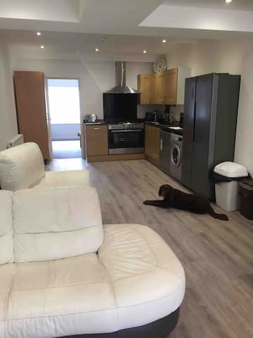Large ground floor room in new refurb house