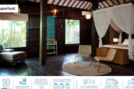 Kampoeng  Bamboo w/Private Pool 50Mbps Internet