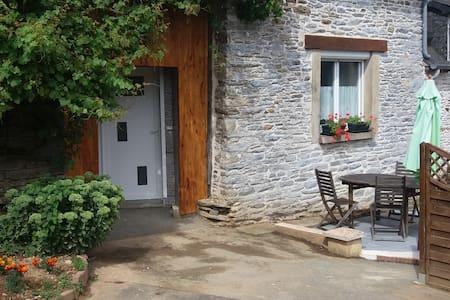 Gîte pour 2 dans une longère - Saint-Martin-des-Prés - Apartamento