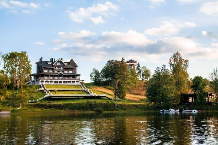 Гостиница на берегу озера - Наговье - Talo