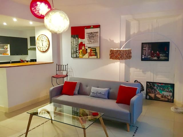 Cosy, center, patio - Narbonne - Lejlighed