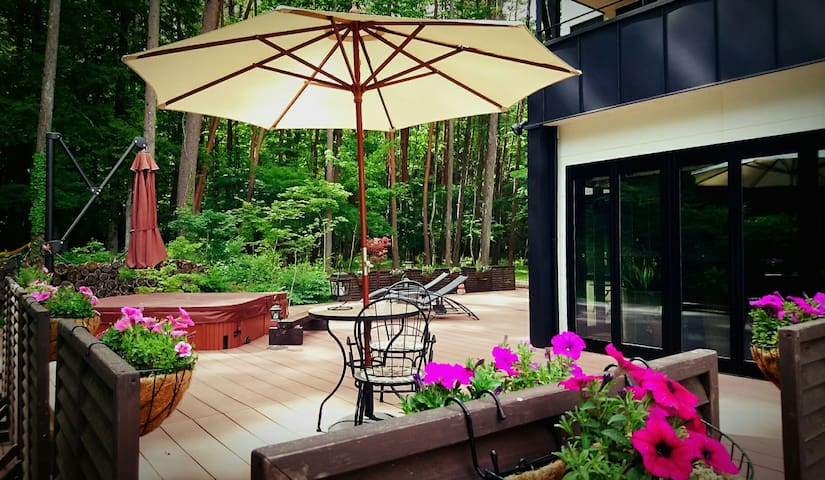 ガーデン ビュー ルーム       garden view Room.