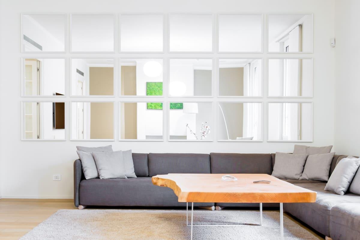 Lussuoso appartamento in stile minimale vicino al Parco Sempione
