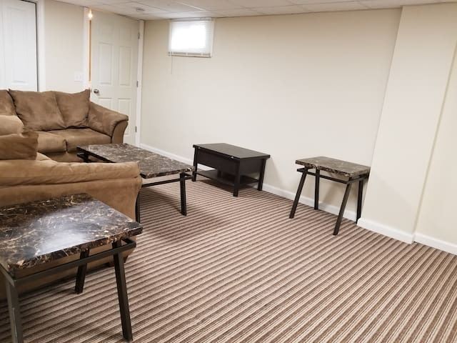 Brand new 2 bedroom basement apartment