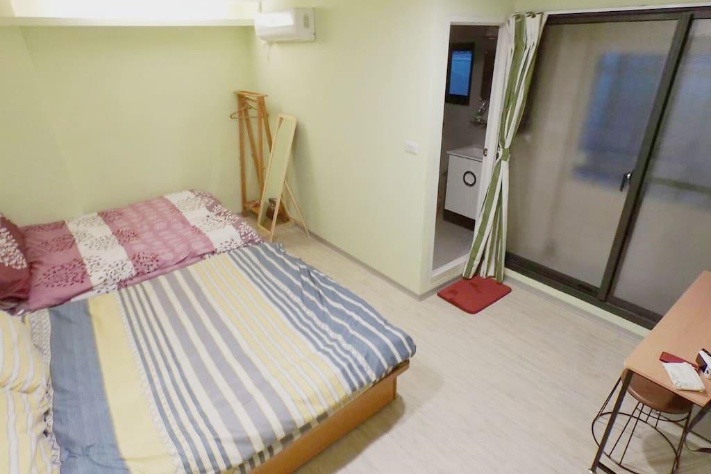 四人房-帶兩張標準雙人床