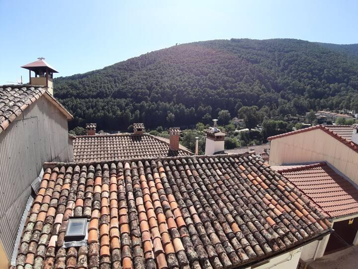Excepcionales vistas a la Sierra de Gredos