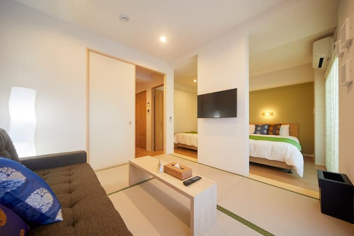 NEW Wide Room Japanese X Modern in Kyoto Centre