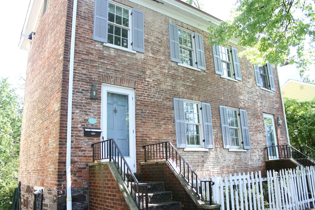 Historic princeton house in the heart of town houses for for The princeton house