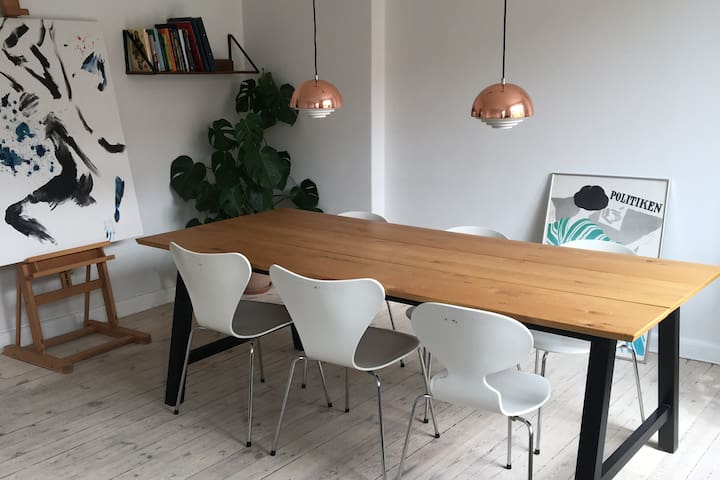 Cosy apartment in the heart of Frederiksberg, CPH