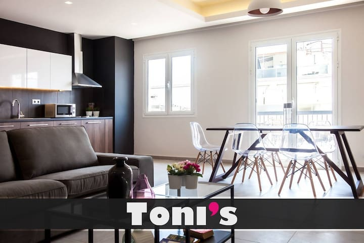 Toni's - 3BD 8th floor Penthouse in Syntagma