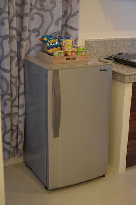 Ref with mini bar available for purchase