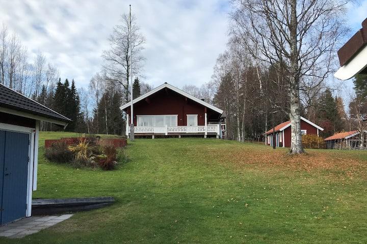 Fin timmerstuga i Sundsnäs, Leksand