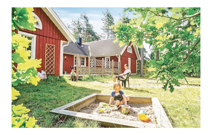 Beautiful home in Köpingsvik with Sauna and 6 Bedrooms