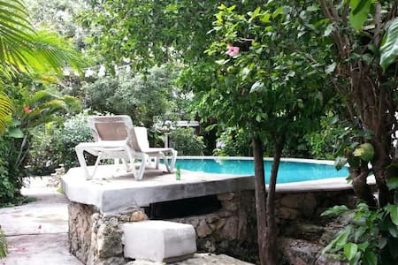 Big house with pool and gated entrance come relax! - Cancún