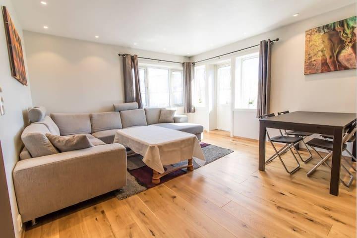 Spacious 2BR apartment close to Lerkendal Stadium - Trondheim - Leilighet