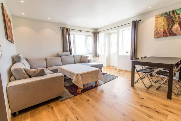 Spacious 2BR apartment close to Lerkendal Stadium - 特隆赫姆(Trondheim) - 公寓