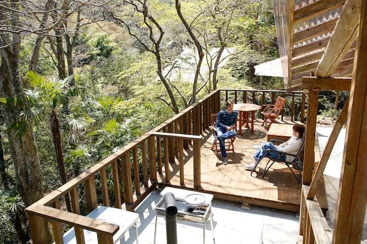 """Forest Terrace """"Kageyan no Ie"""" by Inaka Tourism"""