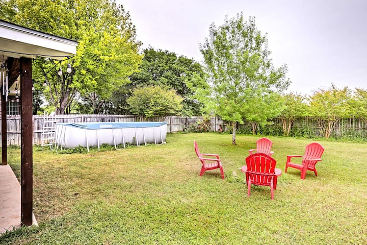Hill Country Home w/Pool near Austin & San Antonio