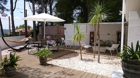 L'Olivera - Bella casa Mediterránea con piscina