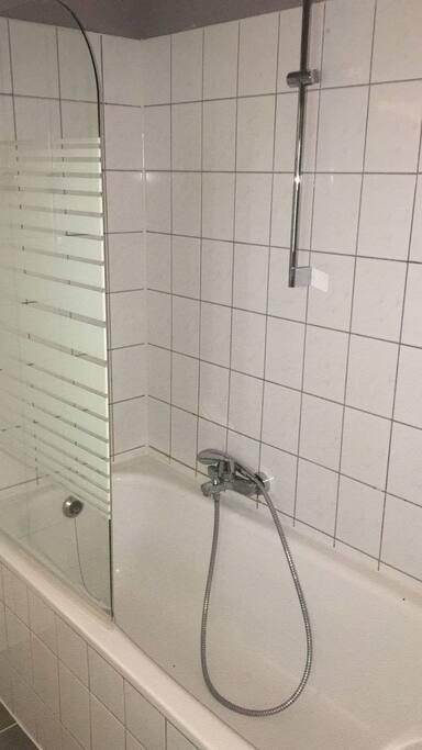 Neue Duschvorrichtung