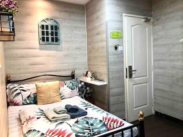 ≛OWL Fresh & Sweet Double Room 2 mins to TST MTR≛
