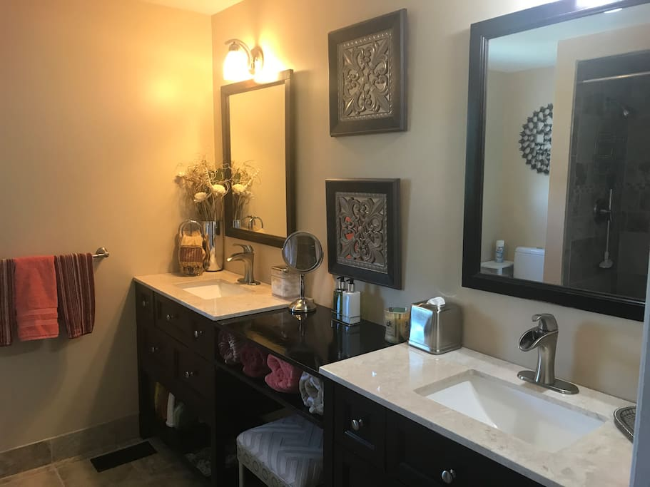 Large guest bathroom