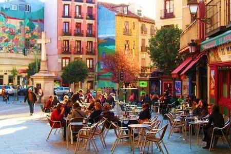 Room in Chueca, Center Madrid+Wifi