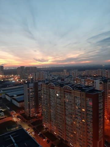 Квартира на 24 этаже! Потрясающий вид!