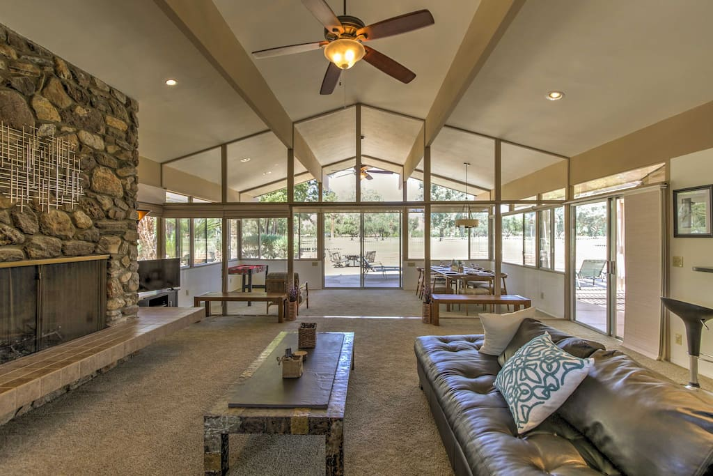 The home boasts 2,000 square feet of luxuriously appointed living space.