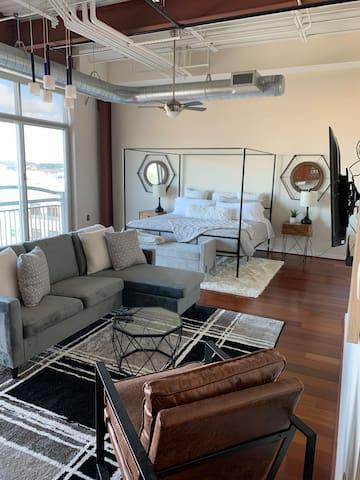 Modern Luxury Loft- Town Center Virginia Beach