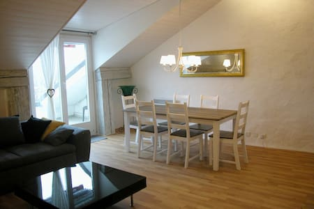 Joline private guest apartment downtown Nidau