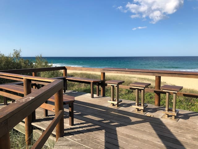 Marcoola beach lookout