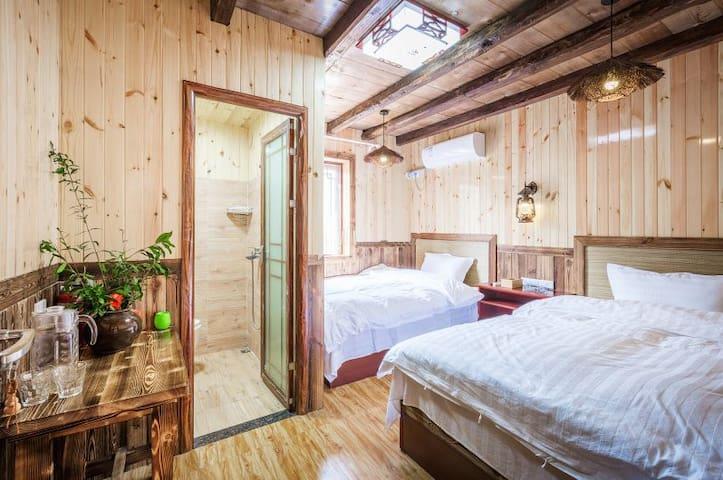 武当山天乐客栈景观双人间  Wudangshan TianLe double room