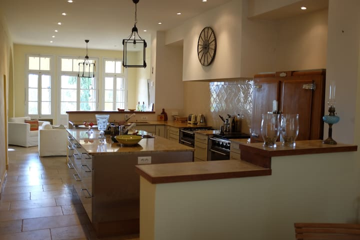 Provence: Charming townhouse with garden - Lorgues - Huis