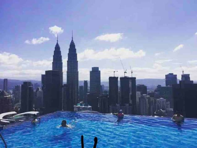 High End Superior 1Bedroom Infinity Pool TwinTower