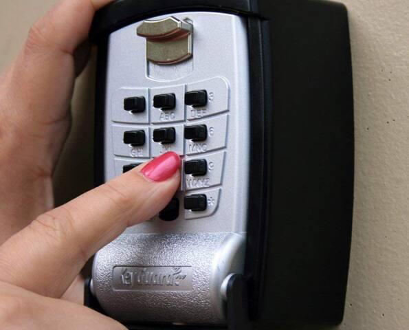 Acceso con cajas de llaves , es indispensable que sepan usar este tipo de acceso inteligente y dejarse guiar por el anfitrión.