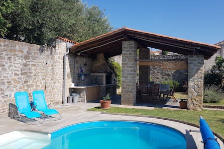 Charming house with a private pool Malija