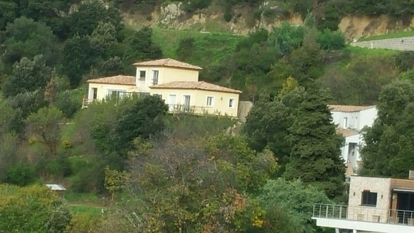 Cadre de rêve, Situation et vue exceptionnelle - Sollacaro - House