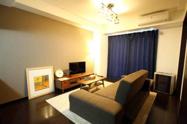 Sapporo Susukino private 1bedroom  apartment (405)