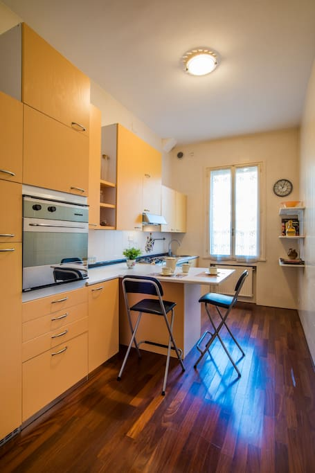 fully furnished kitchen Cucina